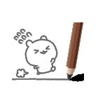 スケッチ♪鉛筆くまさん(個別スタンプ:14)