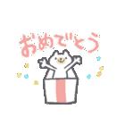 うごくリアクションくまさん(個別スタンプ:03)