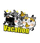 猫ざんまい(個別スタンプ:05)