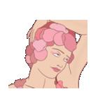 薔薇の精の顔(個別スタンプ:02)