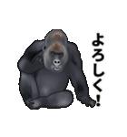 動く!ゴリラごりらⅡ(個別スタンプ:9)