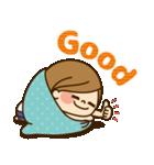 かわいい主婦の1日【だるい・無気力編】(個別スタンプ:10)