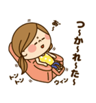 かわいい主婦の1日【だるい・無気力編】(個別スタンプ:19)