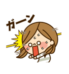 かわいい主婦の1日【だるい・無気力編】(個別スタンプ:27)