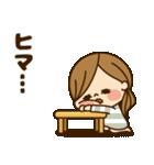 かわいい主婦の1日【だるい・無気力編】(個別スタンプ:35)