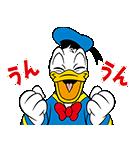 ドナルドダック(オーバーアクション)(個別スタンプ:03)