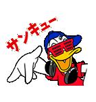 ドナルドダック(オーバーアクション)(個別スタンプ:05)