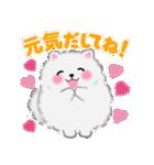 ポメラニアンぽちゃん☆やさしい言葉(個別スタンプ:11)