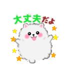 ポメラニアンぽちゃん☆やさしい言葉(個別スタンプ:14)
