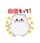 ポメラニアンぽちゃん☆やさしい言葉(個別スタンプ:19)