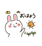 ぶりっこ★うさぎちゃん(個別スタンプ:5)