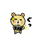 くまごろう with カメラ 2(個別スタンプ:11)