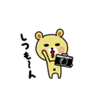 くまごろう with カメラ 2(個別スタンプ:29)