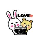 くまごろう with カメラ 2(個別スタンプ:40)