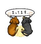 可愛い子犬のダックスたち(個別スタンプ:29)