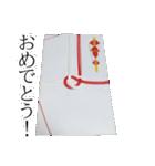 のし袋のスタンプ(個別スタンプ:15)