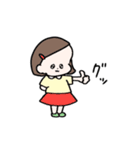 無邪気な女の子スタンプ(個別スタンプ:40)