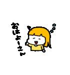大阪のひとみちゃん(個別スタンプ:01)