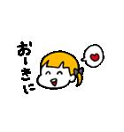 大阪のひとみちゃん(個別スタンプ:04)
