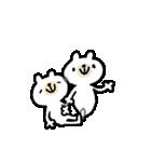 激!うごくリアクションくまさん★(個別スタンプ:24)