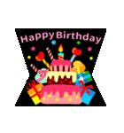 【動く★お誕生日】おめでとう&感謝セット(個別スタンプ:01)