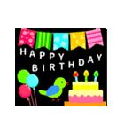 【動く★お誕生日】おめでとう&感謝セット(個別スタンプ:08)