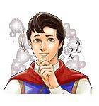 イケメン!ディズニーキャラクターズ(個別スタンプ:21)