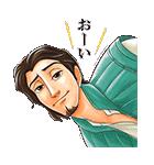 イケメン!ディズニーキャラクターズ(個別スタンプ:28)