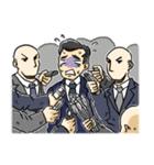 レッツ 報道(個別スタンプ:33)