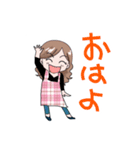 お手軽3段活用〜母編(個別スタンプ:01)