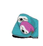 ポップカラーのナマケモノさん(個別スタンプ:31)
