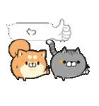 吹き出しボンレス犬&ボンレス猫(個別スタンプ:03)