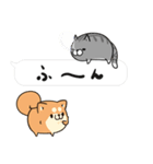 吹き出しボンレス犬&ボンレス猫(個別スタンプ:06)