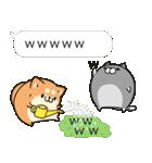 吹き出しボンレス犬&ボンレス猫(個別スタンプ:12)