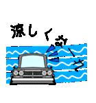 旧車シリーズ・ハコスカPart2【夏仕様】(個別スタンプ:04)