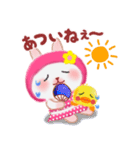 夏☆うさっぴ(個別スタンプ:10)