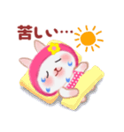 夏☆うさっぴ(個別スタンプ:26)