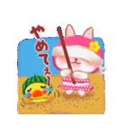 夏☆うさっぴ(個別スタンプ:28)