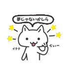 普通の白いネコ(個別スタンプ:06)