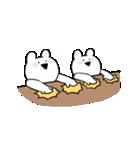 すこぶる動くちびウサギ(個別スタンプ:3)