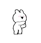 すこぶる動くちびウサギ(個別スタンプ:17)
