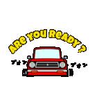 旧車のトラック(個別スタンプ:3)
