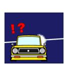 旧車のトラック(個別スタンプ:9)