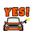 旧車のトラック(個別スタンプ:17)