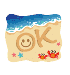 大人女子の日常【夏だ!リゾートだ♥】(個別スタンプ:5)