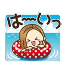 大人女子の日常【夏だ!リゾートだ♥】(個別スタンプ:8)