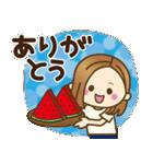 大人女子の日常【夏だ!リゾートだ♥】(個別スタンプ:9)