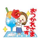 大人女子の日常【夏だ!リゾートだ♥】(個別スタンプ:21)