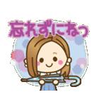 大人女子の日常【夏だ!リゾートだ♥】(個別スタンプ:35)