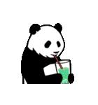 動く!やる気のないパンダ(夏)(個別スタンプ:19)